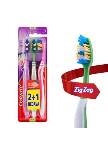 Colgate Colgate Diş Fırçası Zigzag Plus Or,RNKSZ Renksiz